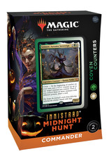 Wizards of the Coast MTG Commander Midnight Hunt Deck  Coven Counters