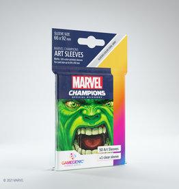 (January - March 2021) Marvel Champions Art Sleeves (50) Hulk