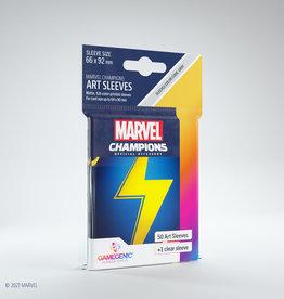 (January - March 2022) Marvel Champions Art Sleeves (50) Ms Marvel