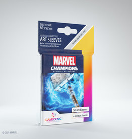 (January - March 2022) Marvel Champions Art Sleeves (50) Thor