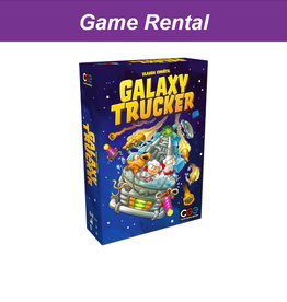 Czech Games Edition (RENT) Galaxy Trucker for a Day. Love It! Buy It!