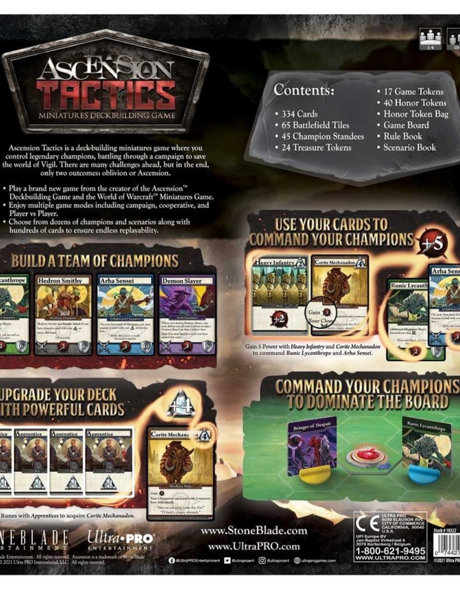 (January - March 2022) Ascension Tactics