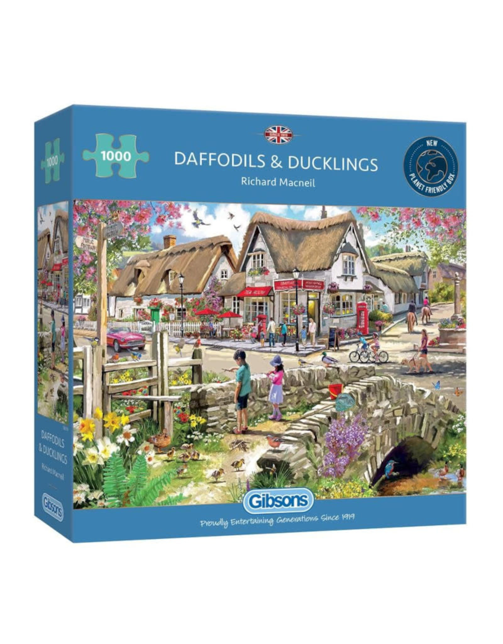Gibsons Daffodils and Ducklings 1000 PCS