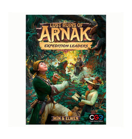 Czech Games Edition (January - March 2022) Lost Ruins of Arnak Expedition Leaders