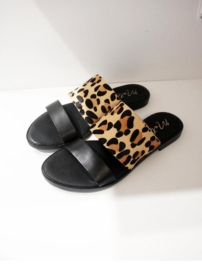 Minnie Leopard Sandal