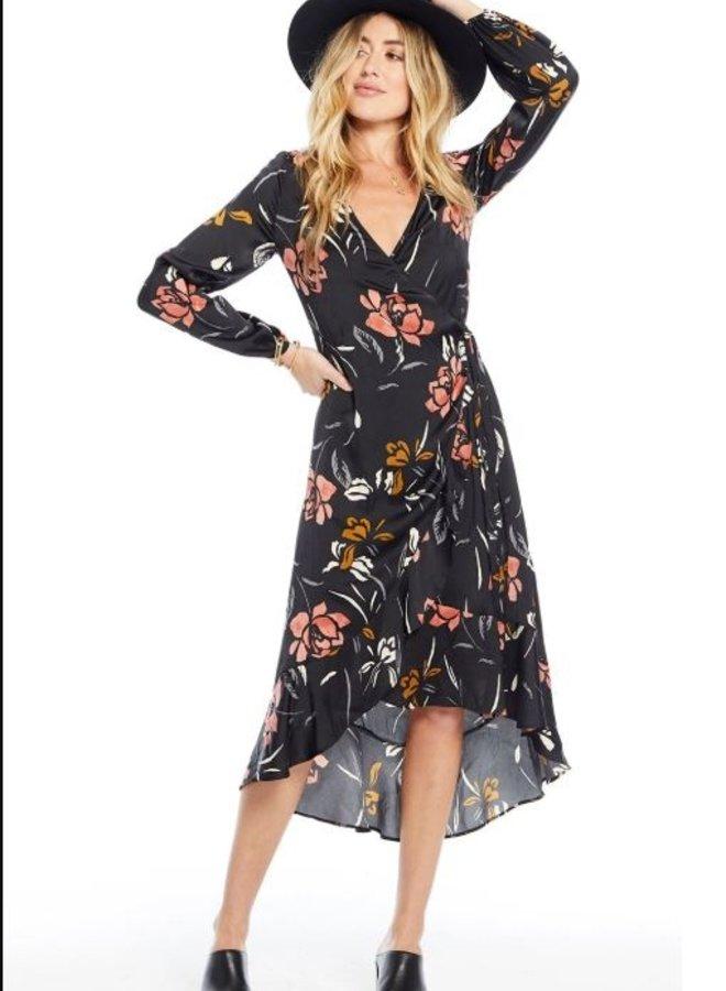 Tia Wrap Maxi Dress