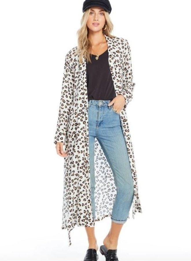 Leopard Robe