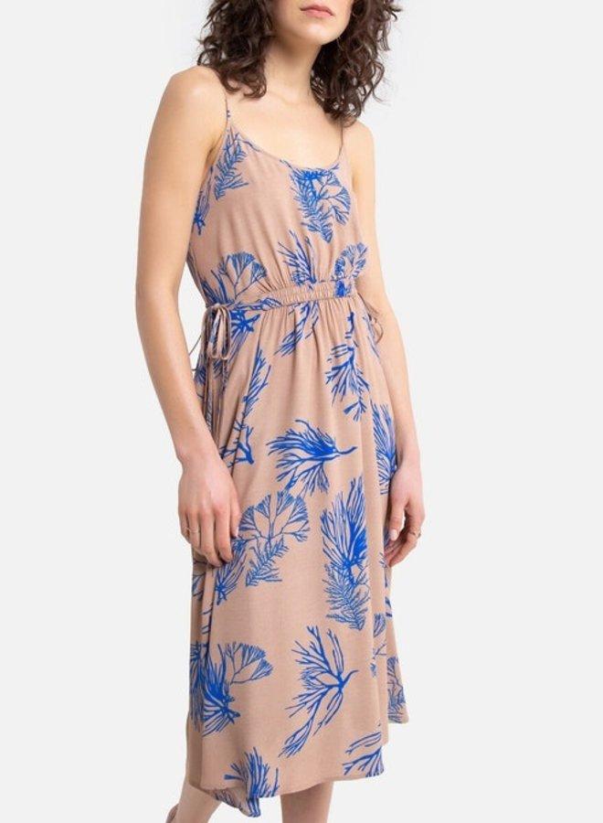 Cobalt Corals Dress