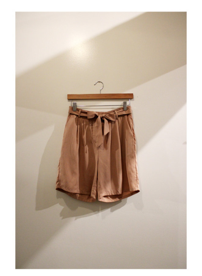 Birch Tie Waist Shorts