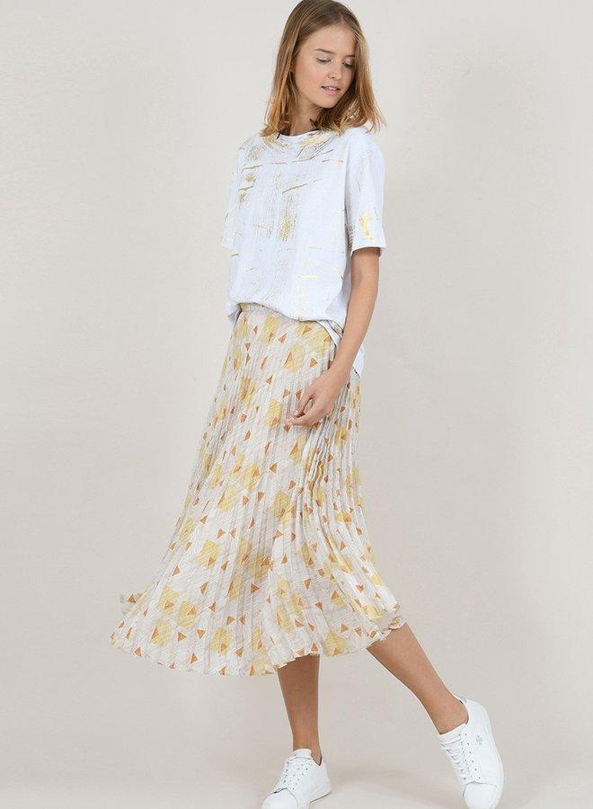 Farrah Pleat Skirt
