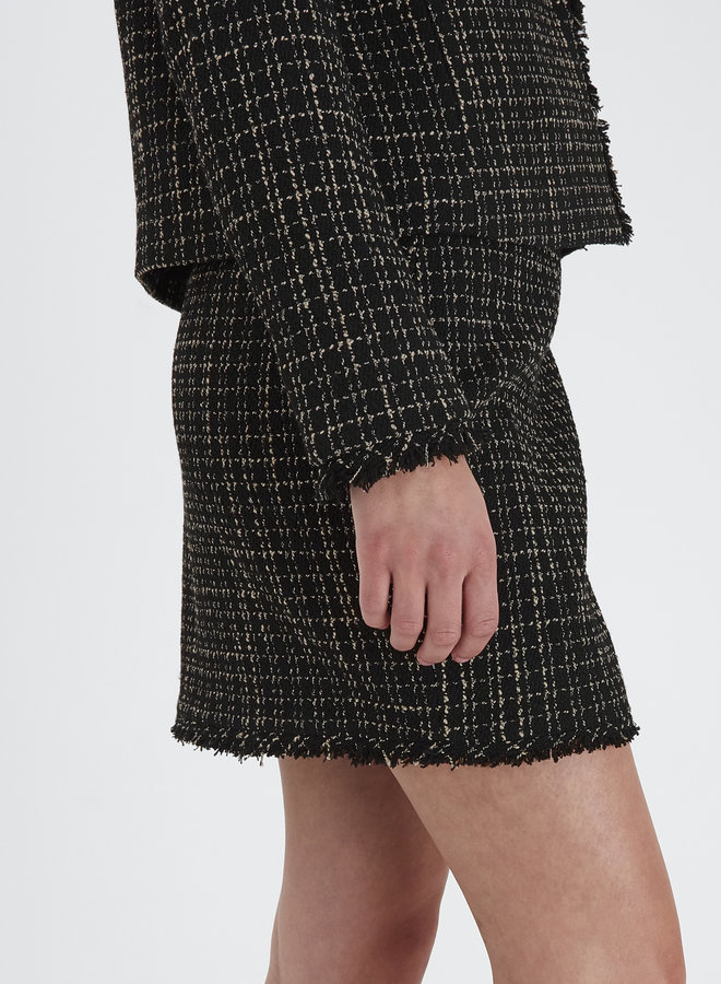 Elani Tweed Skirt