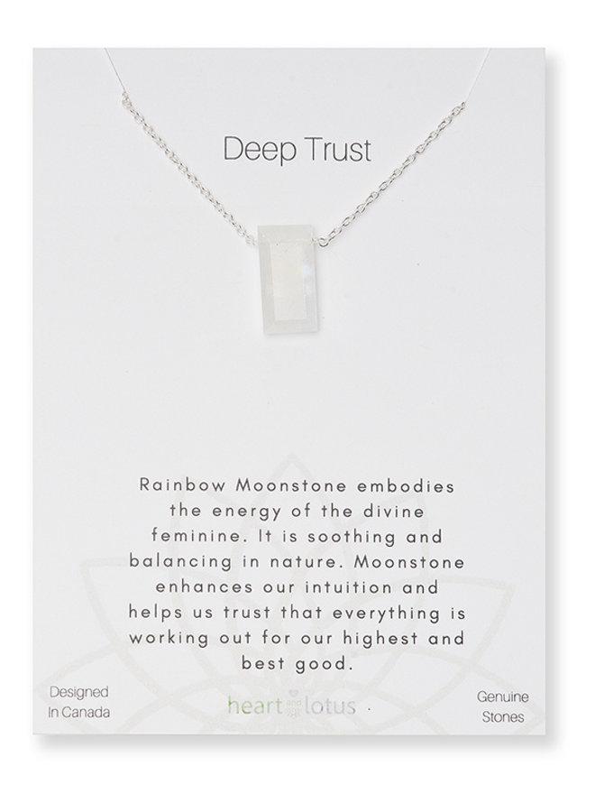 Metaphysical Necklace - Deep Trust