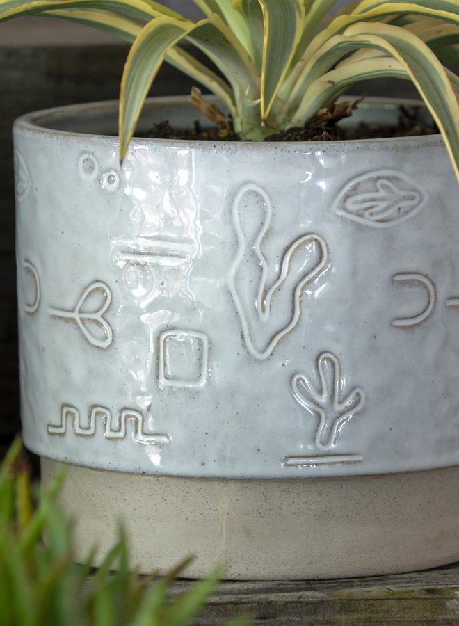 Desert Doodle Pot - Small