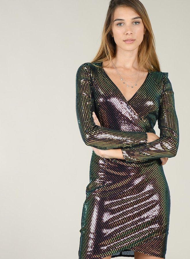 Molly Bracken - Calypso Sequin Dress -