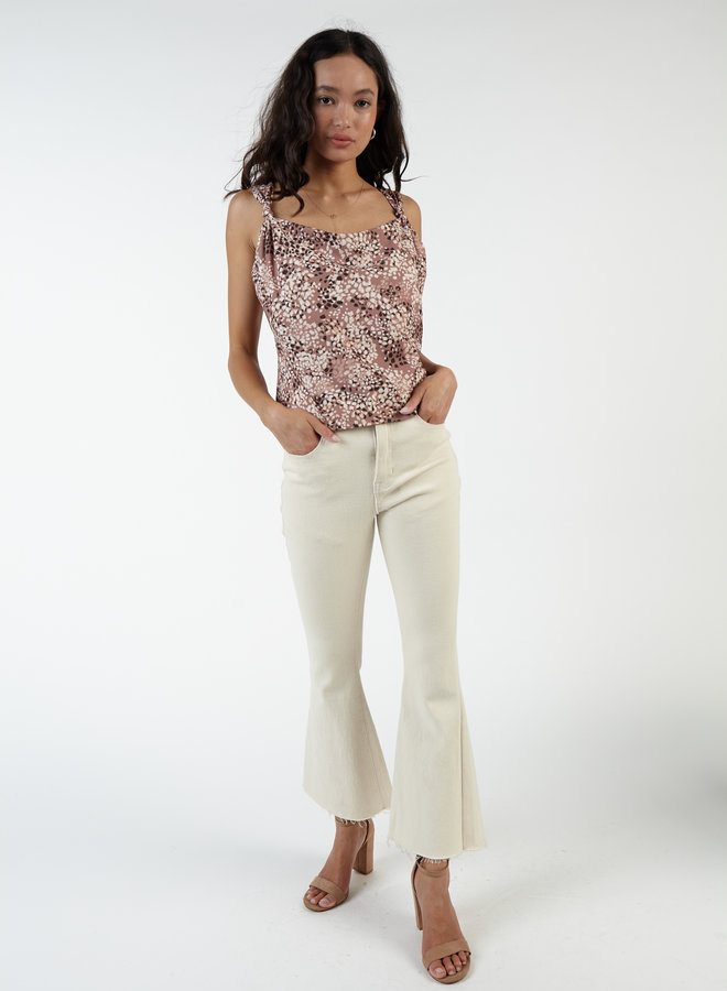 Steppin' Out Knot Strap Top