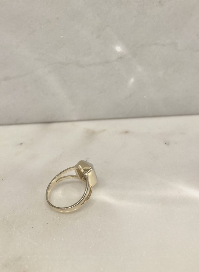Command Rainbow Moonstone Ring