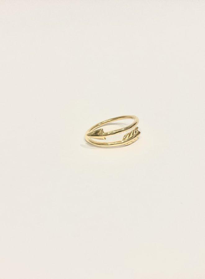 Arrow Wrap Ring