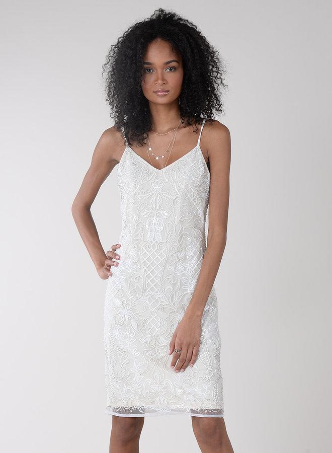 Pretty Pearls Beaded Dress
