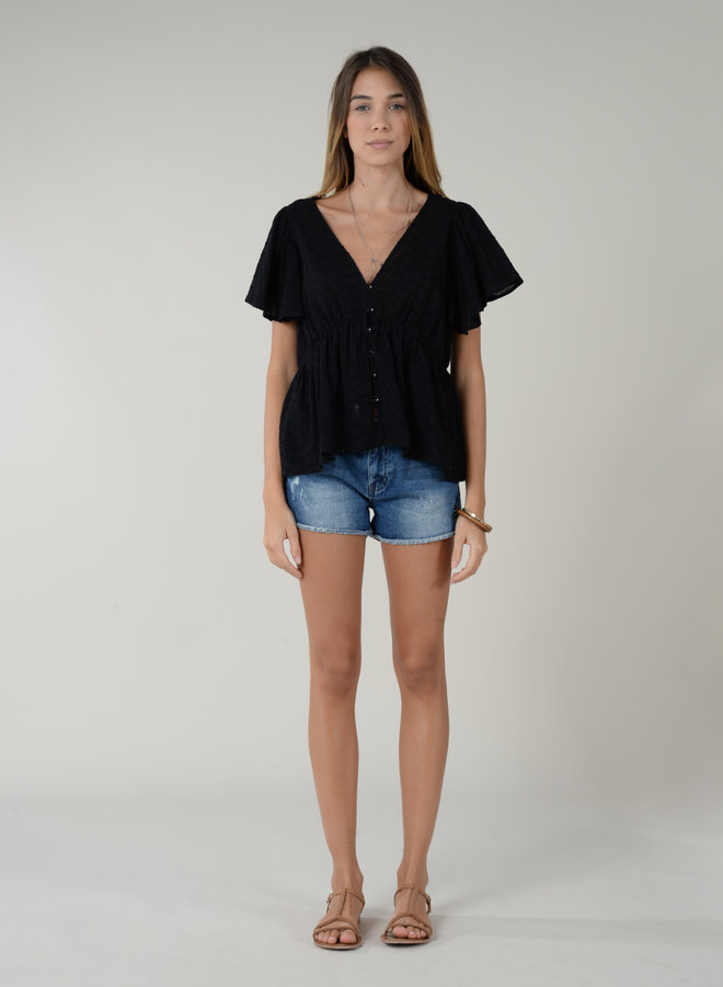 Dolly Cotton Textured Top