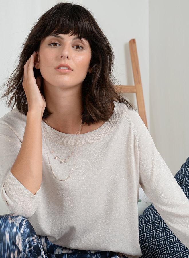 Blythe Shimmer Pullover