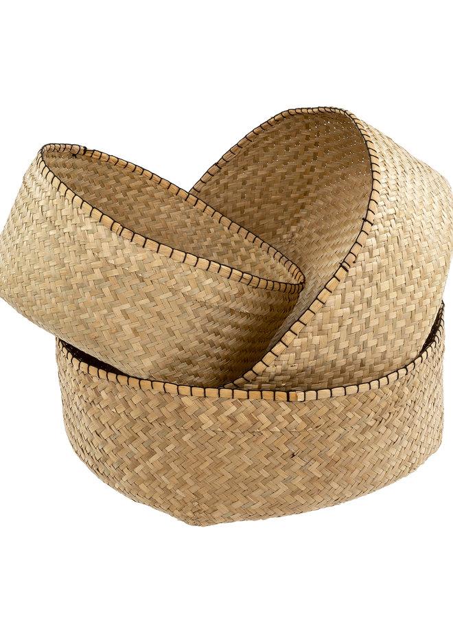 Blanket Stitch Basket - L