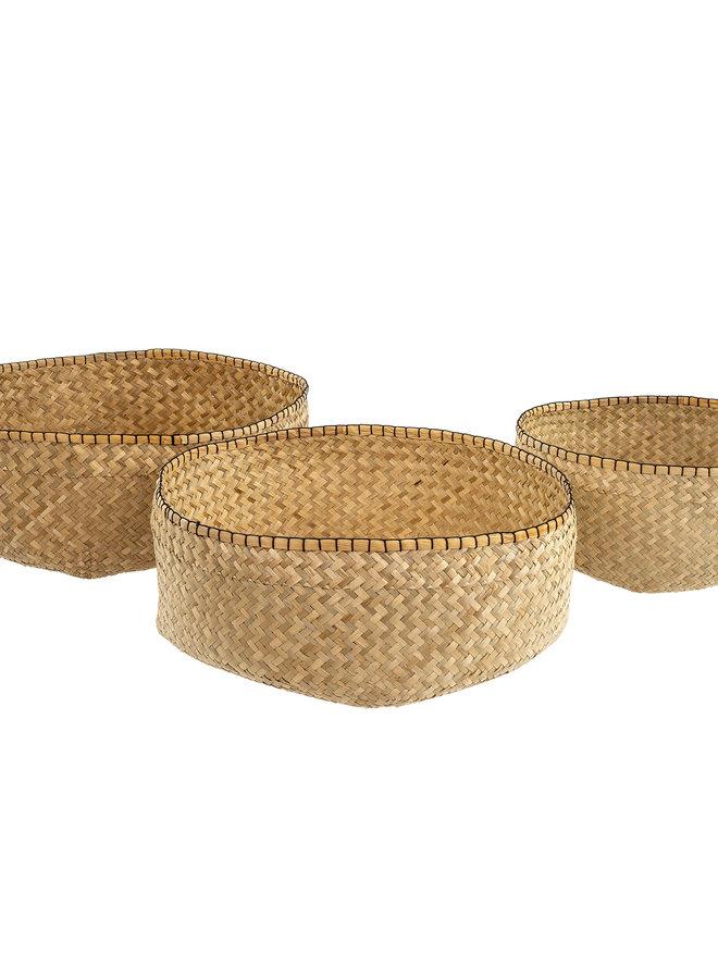 Blanket Stitch Basket - S