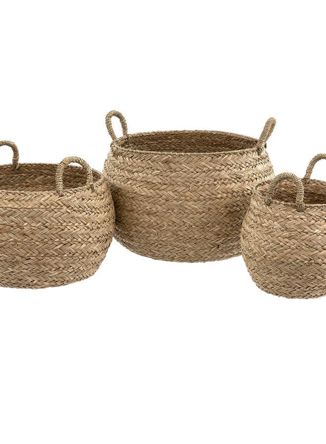 Mesa Seagrass Basket - L