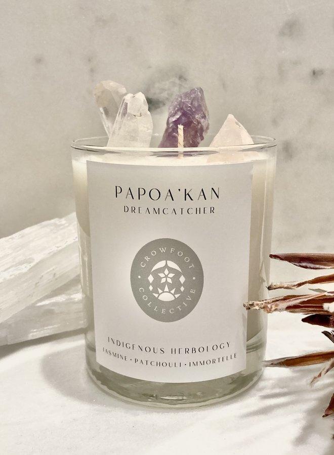 P  A  P  O  A '  K  A  N // Dreamcatcher Ritual Candle
