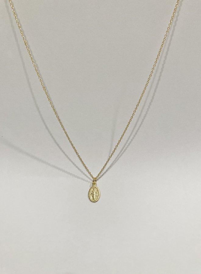 Virginia Medallion Necklace