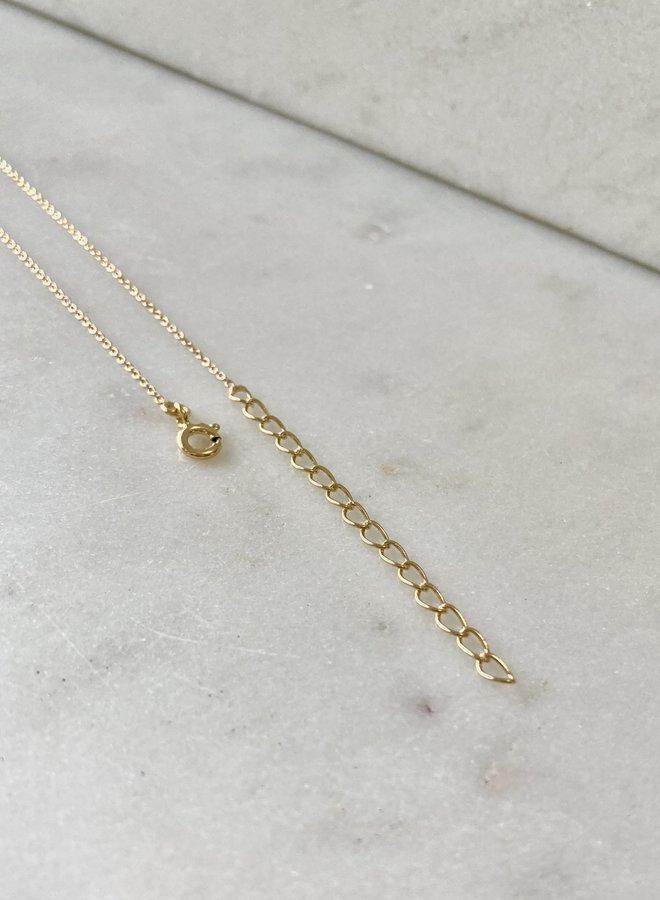 Selene Crescent Necklace