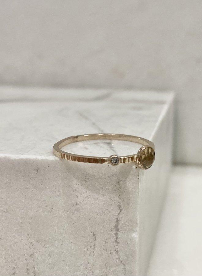Elemental Gemstone Ring