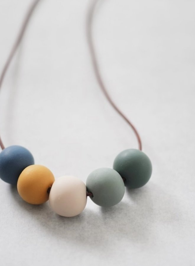 5 Bead Necklace