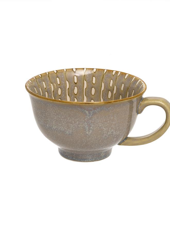 Wisteria Latte Cup