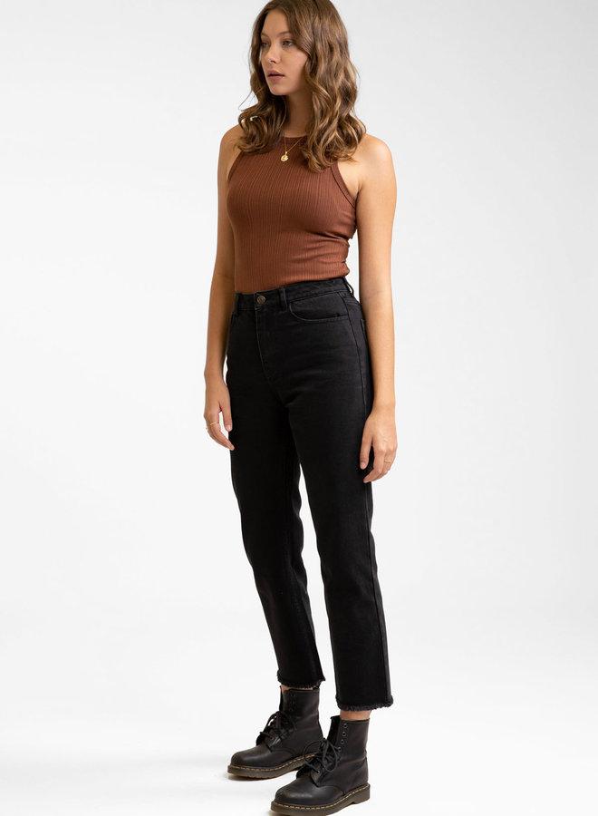 Straight Leg Crop Jean