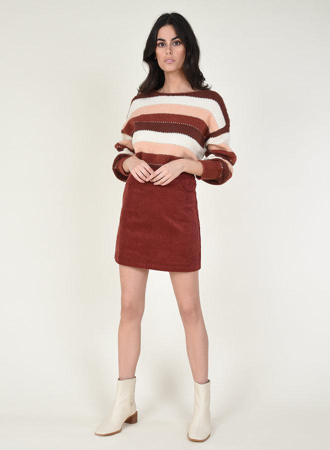 Zella Stripe Sweater