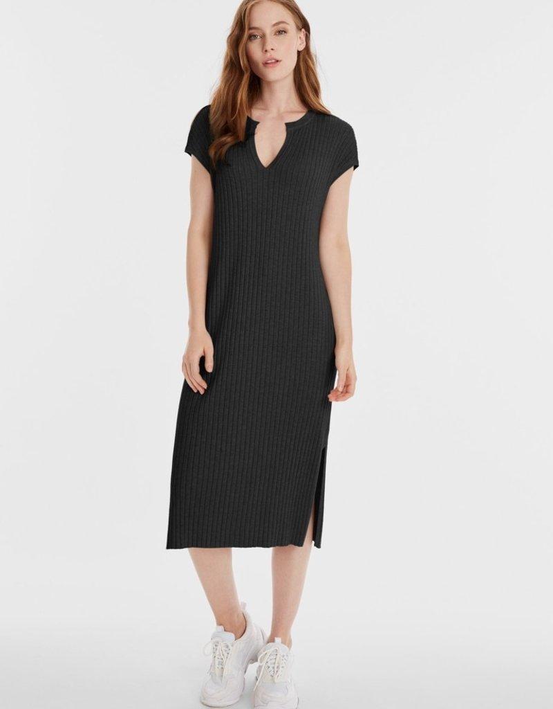 525 ribbed long dress