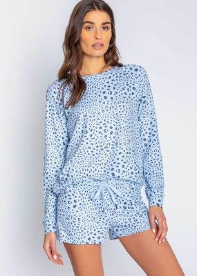 PJ leopard print top