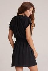 bella dahl short sleeve smocked waist dress