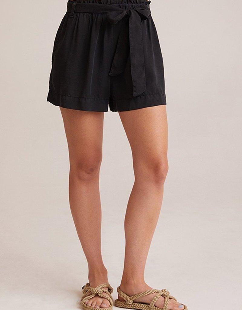 bella dahl ruffled high waist shorts