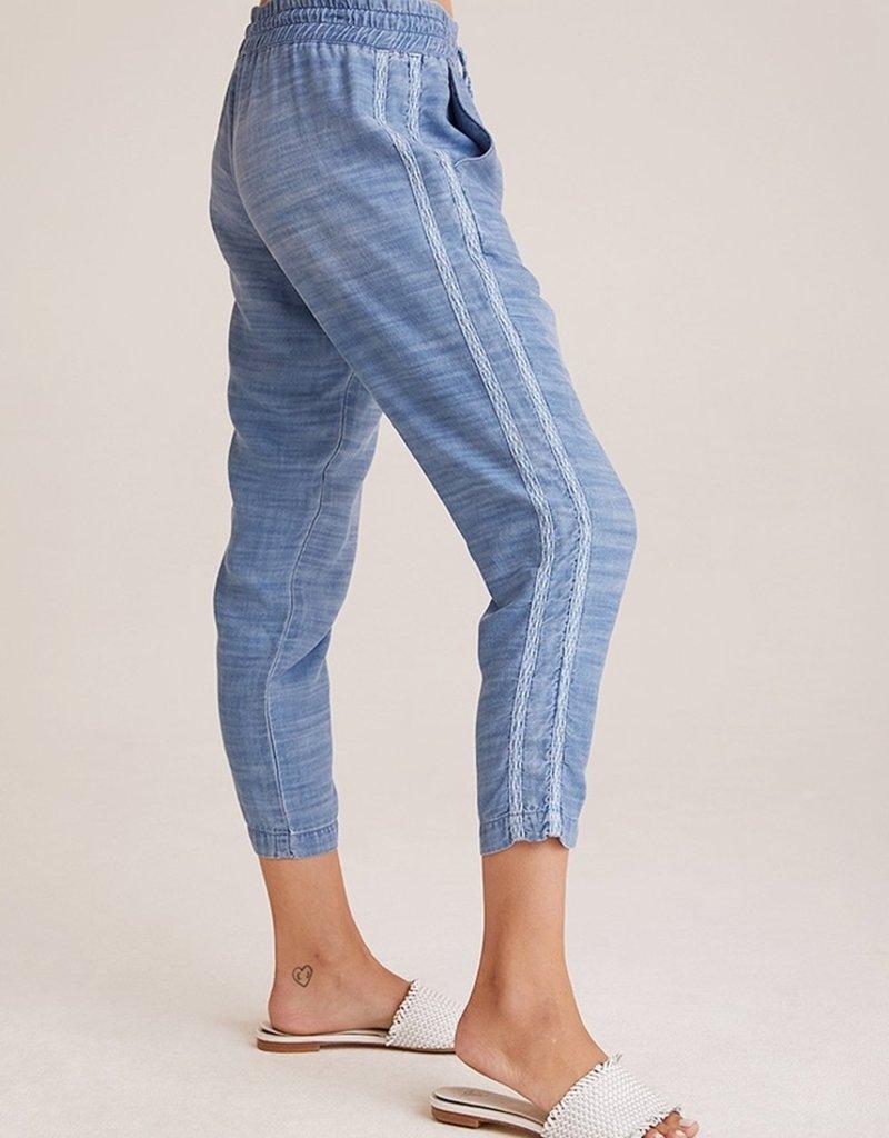 bella dahl double stripe crop pant