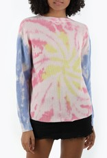 525 tie dye crew neck sweater