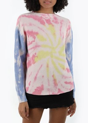 525 tie dye crew neck sweater