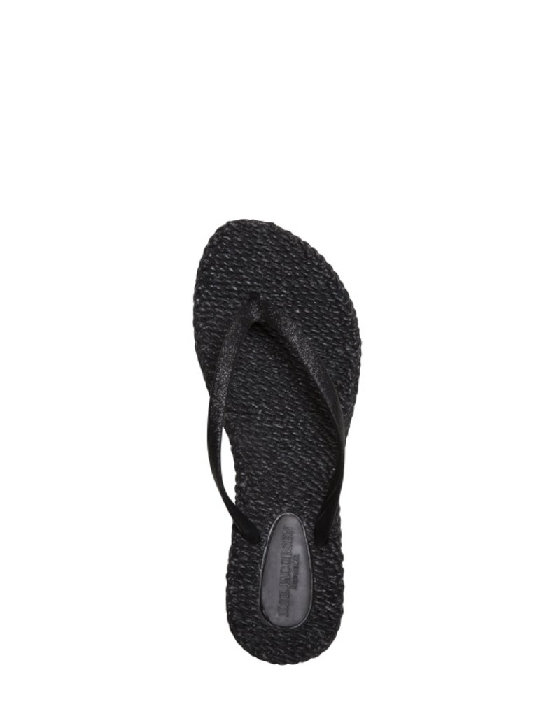 Ilse Jacobsen sparkle thong flip flops