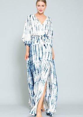 wildflower kimono style maxi dress