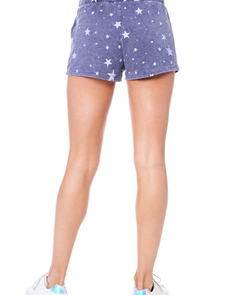 wildflower soft and cozy star print set french terry