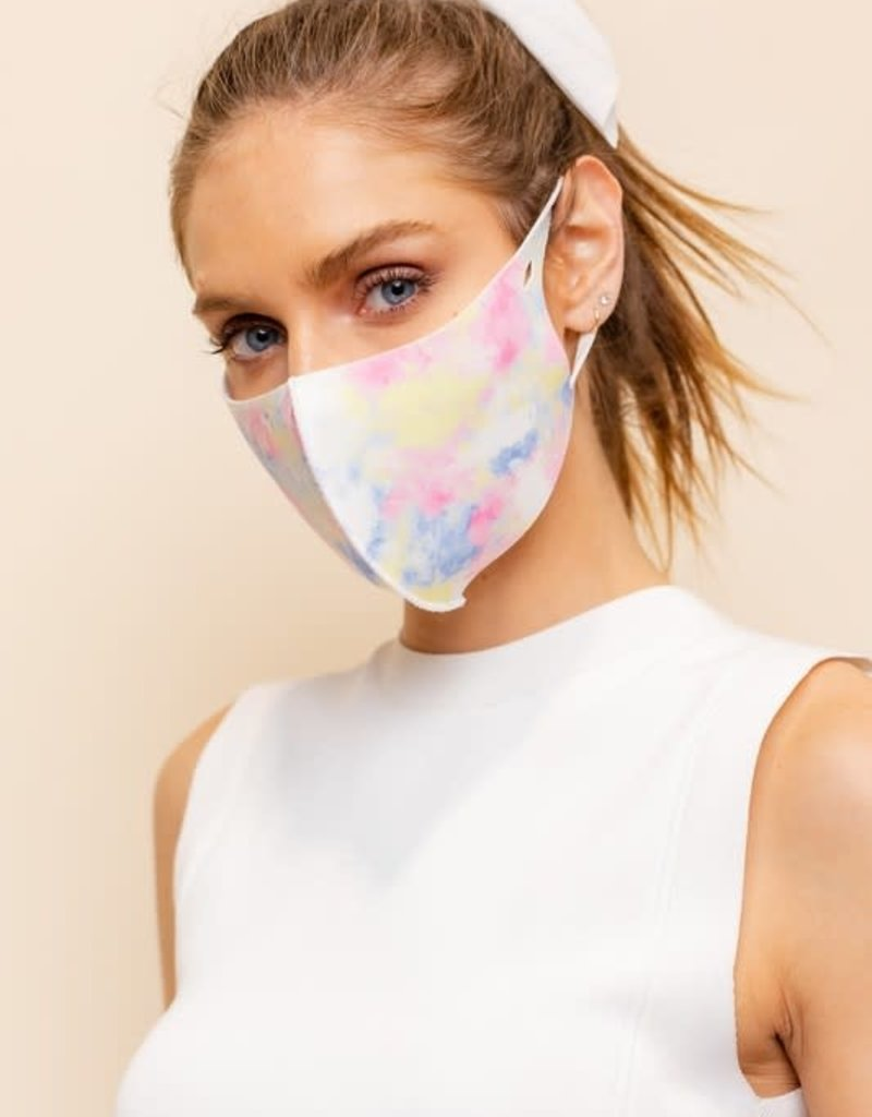 psychedelic face mask