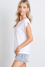 wildflower Short Sleeve Knit tee