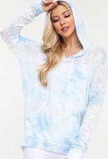 wildflower hoodie long sleeve, tie dye