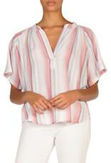 stripe multicolor blouse