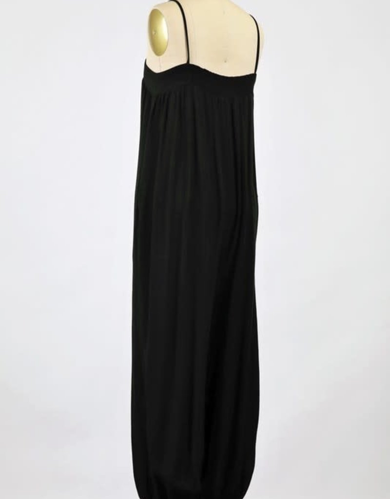 wildflower PRE-WASHED TWILL JUMPSUIT WITH SLOUCHY FITTED PANTS